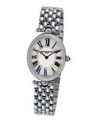 Ladies' Classics Art Deco Stainless Diamond Watch Frederique Constant
