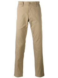 Carhartt Casual Trousers Nude Neutrals