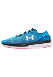 Under Armour Speedform Turbulence Lightweight Running Shoes Dynamo Blue Harmony Red White