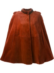Liska Fur Cape Red