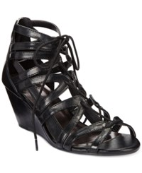 Material Girl Hera Demi Wedge Gladiator Sandals Only At Macy's Women's Shoes
