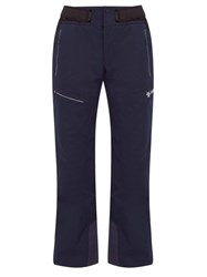 Goldwin Ouranos Waist Tab Ski Trousers Navy