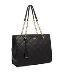 Kate Spade Phoebe Quilted Leather Bag Black
