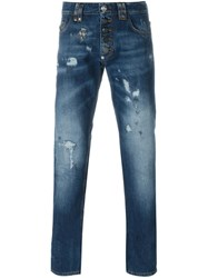 Philipp Plein 'Do This' Jeans Blue