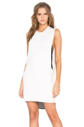 Blq Basiq High Neck Tank Dress White