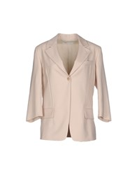 Agnona Suits And Jackets Blazers Women Beige
