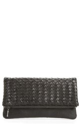 Sole Society Kaya Crossweave Clutch