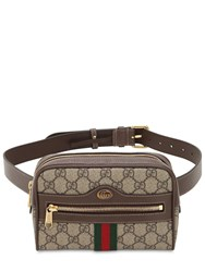 Gucci Ophidia Gg Supreme Belt Bag Taupe