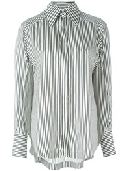 Petar Petrov Striped Shirt Black