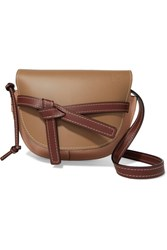 Loewe Gate Small Leather Shoulder Bag Brown