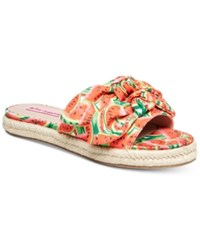 Betsey Johnson Jazzy Sandals Red Multi