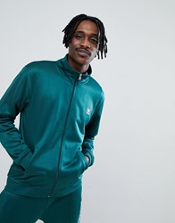 Dc Shoes Track Jacket In Green