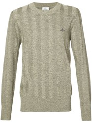 Vivienne Westwood Man Knitted Sweater Grey