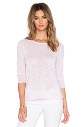 Candc California 3 4 Sleeve Sweater Pink