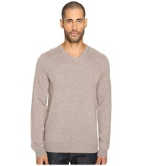 Vince Cashmere Long Sleeve Crew Neck Sweater Heather Maple