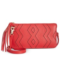 Inc International Concepts Austin Convertible Crossbody Pouch Only At Macy's Red