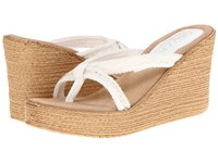 Sbicca Jewel White Wedge Shoes
