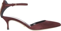 Sergio Rossi Ankle Strap D'orsay Pumps Red