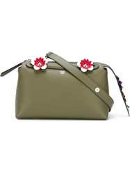 Fendi Small 'By The Way Boston' Tote Green