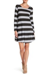 Love Zoe Stripe Long Sleeve Dress Multi