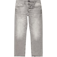 River Island Grey Wash Fade Loose Fit Jeans