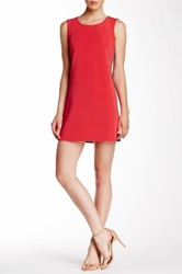 Emploi Marcy Colorblock Dress Red