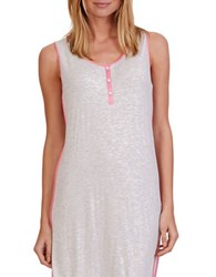 Nautica Knit Chemise Ice Water Heather