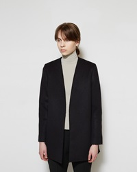 Marni Felted Wool Coat Coal