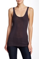 Inhabit Solid Tank Purple