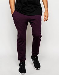 New Look Joggers In Burgundy