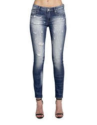 Cult Of Individuality Zen Mid Rise Washed Jeans Motion