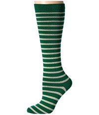 Richer Poorer Nora Knee High Wool Green Oatmeal Women's Knee High Socks Shoes Olive