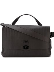Zanellato 'Postina' Briefcase Brown