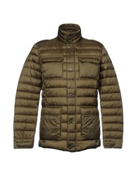 Adhoc Down Jackets Military Green
