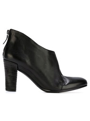 Roberto Del Carlo High Ankle Boots Black
