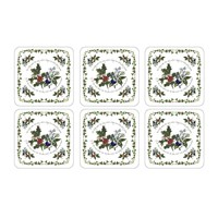 Portmeirion The Holly And The Ivy Coasters Set Of 6