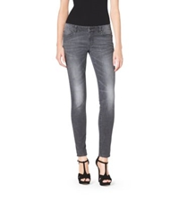 Michael Kors Lace Detailed Jeans Grey Wash