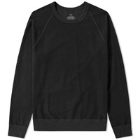 Save Khaki Fleece Crew Sweat Black
