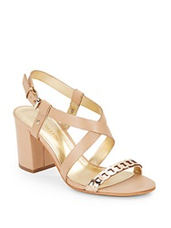 Enzo Angiolini Galaxee Strappy Sandals Natural