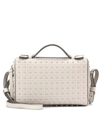 Tod's Pebbled Leather Clutch Grey