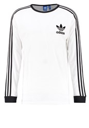 Adidas Originals Long Sleeved Top White