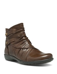 Cobb Hill Pandora Leather Ankle Boots Chocolate