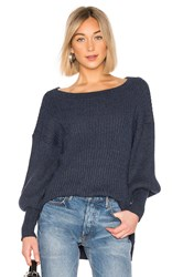 Elliatt Jade Knit Sweater Blue