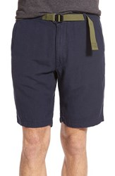 Men's Relwen 'Highland' Linen And Cotton Shorts