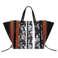 76f77a3396bf Fiorelli Rocksteady Tote Bag Toffee Print Mix