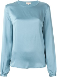 P.A.R.O.S.H. Long Sleeve Blouse Blue