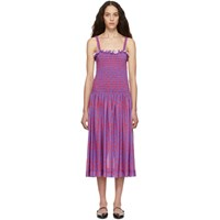 Molly Goddard Purple Elsie Dress