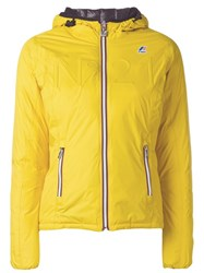 N 21 No21 Padded Jacket Yellow Orange