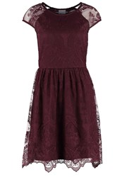 Vero Moda Vmmaggi Jersey Dress Decadent Chocolate Dark Brown