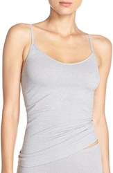 Nordstrom Women's Lingerie Two Way Seamless Camisole Grey Sleet Heather